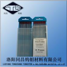 Wolfram-Elektrode für Verkauf Wt30 in lila Spitze