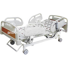 luxury four abs rail medical electric beds for patients