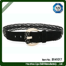Fashion Design Western Style Braided Leather Belt For Jeans