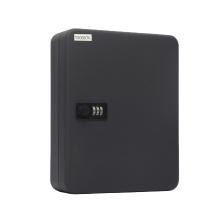 Newest Design Top Quality Metal Square 300*240*80 Skeleton Metal Key Box for 36 Keys