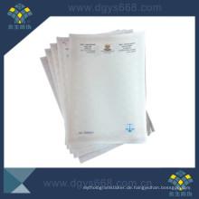 Fiber Paper Document Sicherheitsdruck