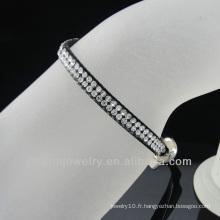 2013 bijoux fantaisie bracelets ruban pour filles