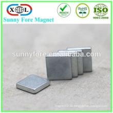 N38 kleine Zink Quadermagnet