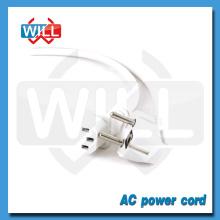 VDE ROHS PVC jacket white european power extension cord