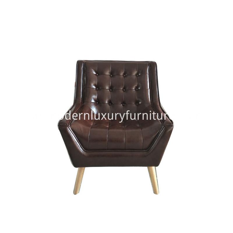 Leather Designer Armchair