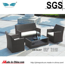 New Brand Comfortable Patio Rattan Furniture Sofa Set (ES-OL007)