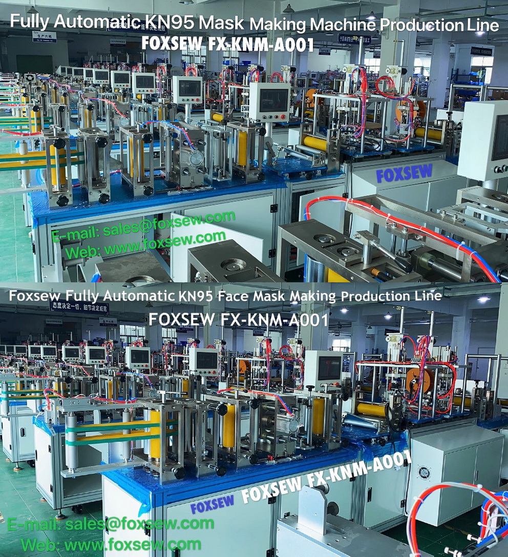 Fully Automatic KN95 Mask Making Machine -3