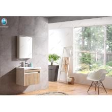 24 '' vanidad minúscula de madera del cuarto de baño de la casa de la vanidad respetuosa del medio ambiente del diseño moderno simple tamaño pequeño simple