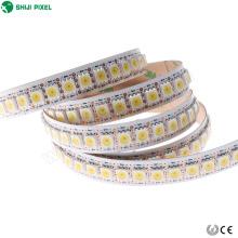 Pixel Led endereçável luz de Tira 12mm programável 144 pixels / m rgb smd5050 apa102c 5vdc para decoração de diversões