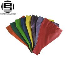 Оптовая изготовленный на заказ цветок рукава застежка бумажный упаковывая мешок для свадьбы