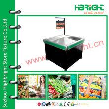 Supermarkt-Verkaufsstand für Obst und Gemüse