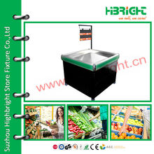 Стенд для продвижения супермаркетов для фруктов и овощей