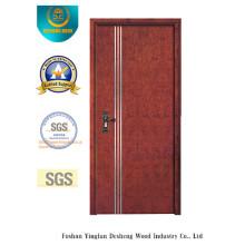 Porte de style de MDF de mode pour l'intérieur avec l'épreuve de l'eau (xcl-024)