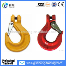 alloy steel g80 forged crane hook assembly