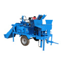 Mobile clay interlocking block making machine in nigeria