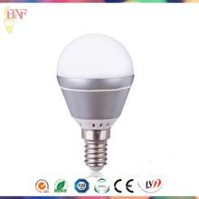 4ВТ/6ВТ Серебряная алюминиевая G45 СИД Промышленный завод лампы дневного света Е14