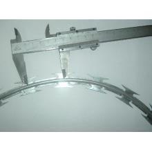 Single Coile Concertina Razor Barbed Wire