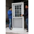 Easy Install Half View Interchangeable Glass Storm Door