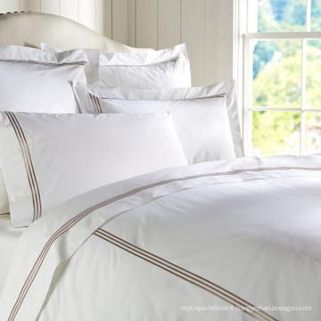 Ensembles de literie de draps de lit d'hôtel de luxe de style européen d'hôtel de literie de 5 étoiles