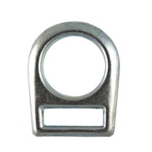 402 Drop Forged 2 polegadas Full Circle Flat Steel D-ring