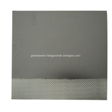 Graphite Sheet With Galvanized Sheet Insert
