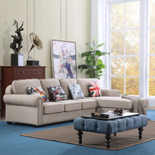 2-Piece Coaster Corner Upholstered Sectional Sofa