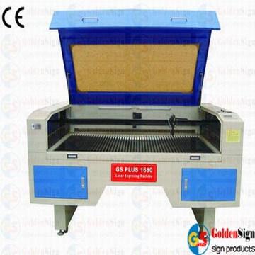 (CE & FDA) Máquina de corte móvil del laser de la Doble-Cabeza de Goldensign