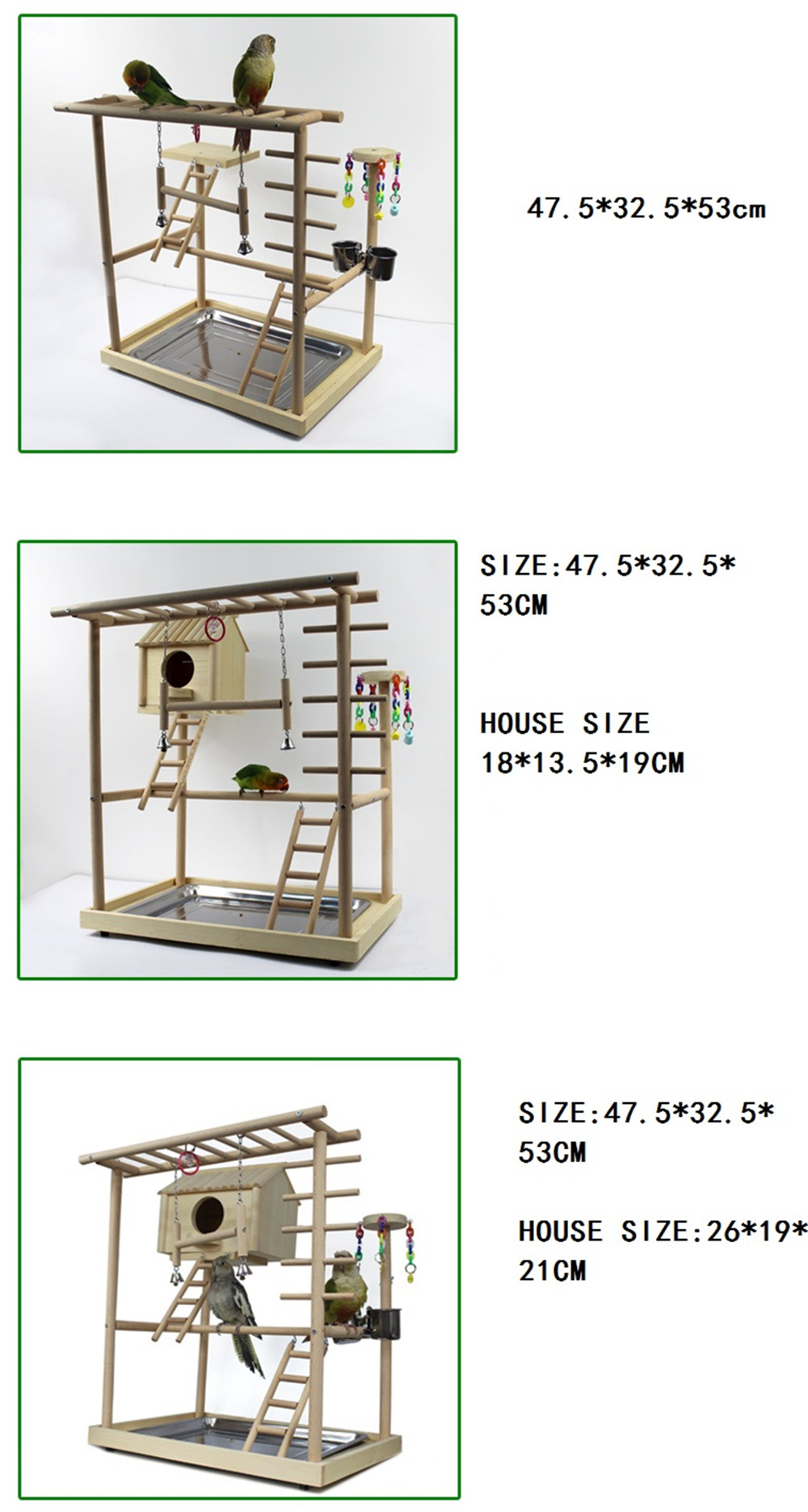bird house with dinning room