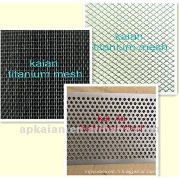 CBRL anping KAIAN mesh en titane utilisé dans l'industrie des acides / alcalins / environnement / chimique (usine de 30 ans)