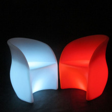 Wiederaufladbarer beleuchteter LED-Barstuhl