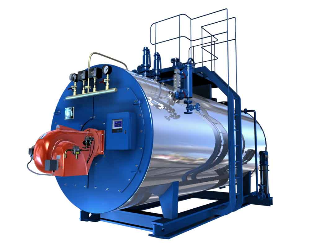 1 Ton Gas Fired Steam Boiler