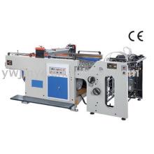 Full auto cylinder screen printing machine
