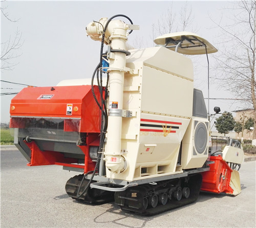 Harvester for Rice Cutting