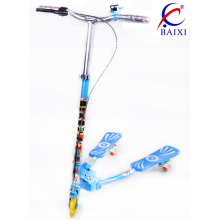 Children Foot Scooter with Flashing PU Wheel (BX-WS001)