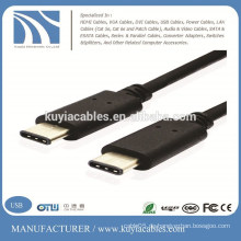 Typ -C bis 3.1 Typ-C Stecker auf Stecker Daten Ladegerät Kabel für neues MacBook