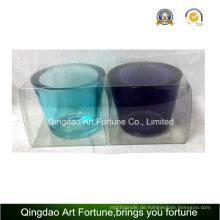 Heißer Verkaufs-starker Wand-Teelicht-Kerze-Halter-Hersteller-kleiner Größen-Satz von 2