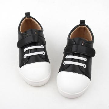 Gummi Sole Baby Läder Boy Casual Shoes