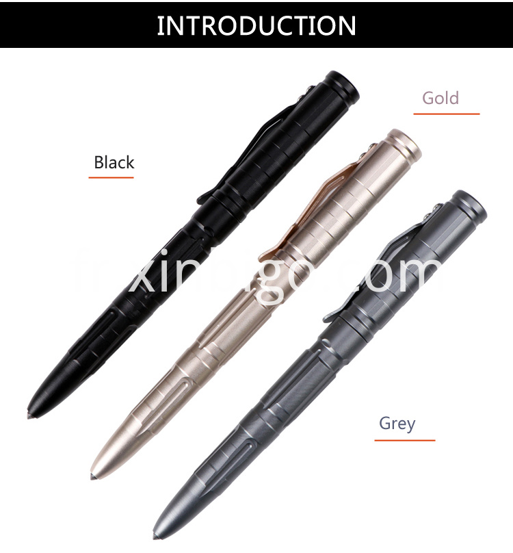 Custom Tactical Pen