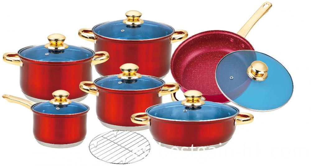 13 Pieces Nonstick Cooking Set