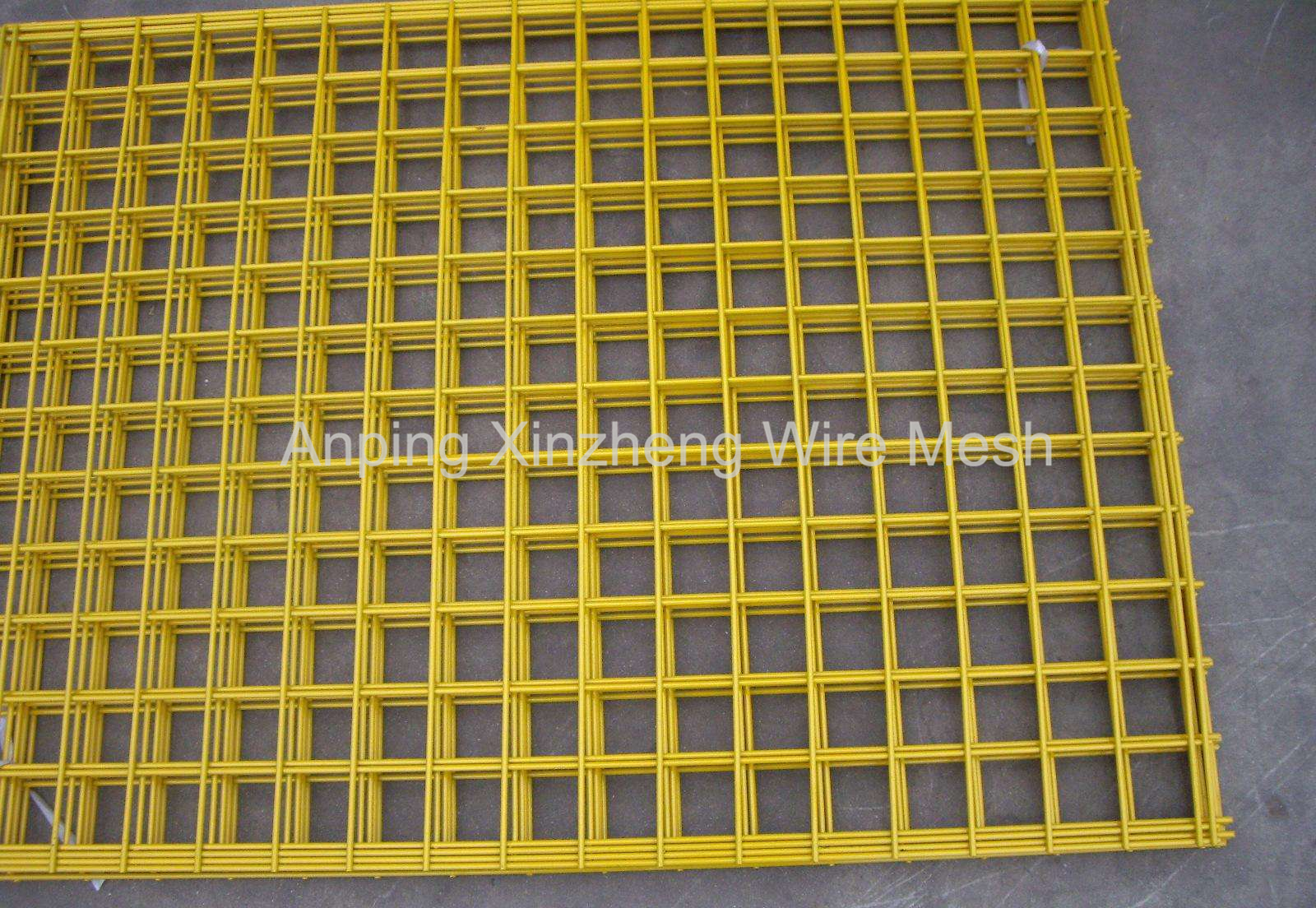 Plastic Coated Welded Fencing