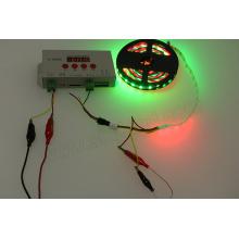 RGB Flashing pixel strip led light controll K1000C led sd card dmx controller