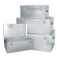 Gute Qualität 1,5 mm Aluminium Check Plate Rechteck Werkzeuge Box