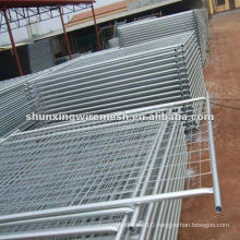 swimming pool fencing welded by wire mesh and tube