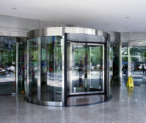 Ningbo GDoor Three-wing Automatic Revolving Doors for Commercial