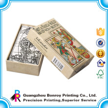 Высокое качество пользовательские печать карты карманного размера колоды карт