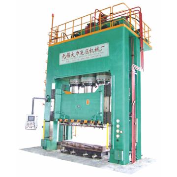 Prensa hidráulica para formação de composto 1000T