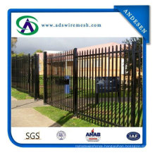 China Supply Used Pool Safety Palisade Pale/Wrought Iron Fencing Eurofence Panel for Sale