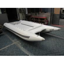 Barco inflável de lancha, barco a remo de borracha