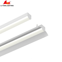 Новый дизайн высокий люмен 130lm легкие открытые светодиодные линейные светильники с возможностью Диммирования свет и аварийное освещение Сид