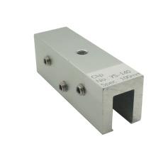 Montaje en panel PV Sistema de techo de metal Gancho de techo de costura / Abrazadera solar de aluminio
